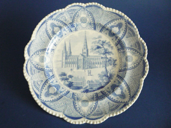 Carey S Saxon Stone China Litchfield Cathedral Dinner