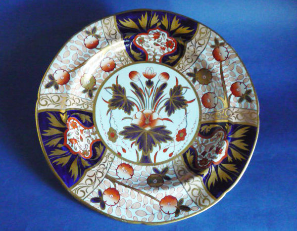 early spode stone china japan pattern dinner plate c1815 sold