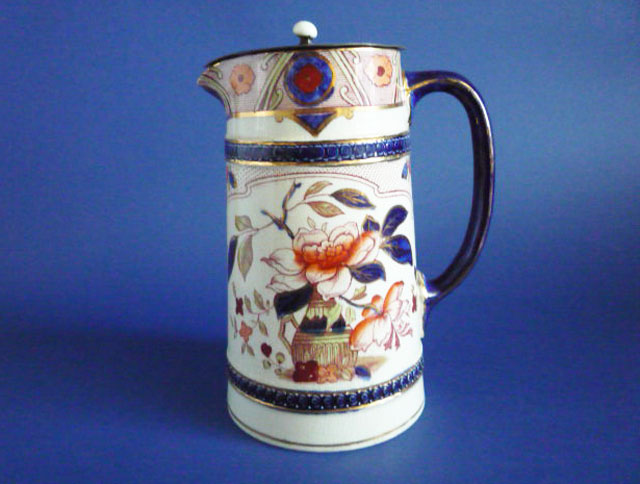 fine burgess and leigh japonica burleigh ware jug c1900 sold