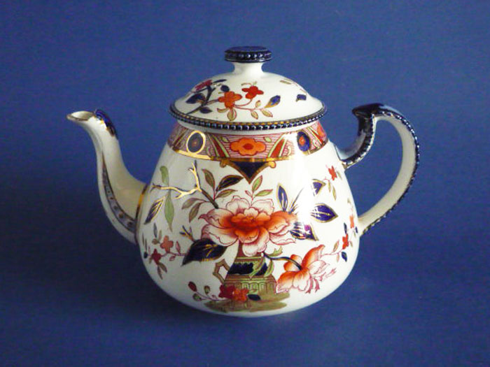 rare burgess and leigh japonica burleigh ware teapot c1900